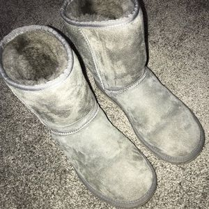 Gray Classic Ugg Size 6